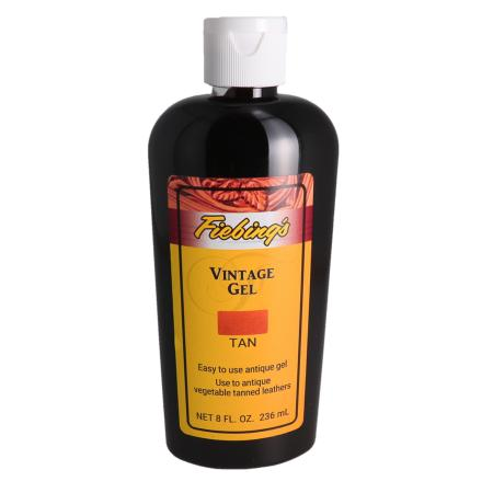 Gel antique - FIEBINGS VINTAGE GEL -  Bidon de 236 ml - HAVANE