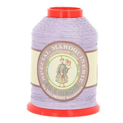 Fil Spécial Maroquinerie polyester coton - 28/4 - 0,52 mm - MAUVE