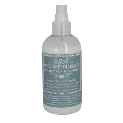 Imperméabilisant base aqueuse pour le cuir - Spray en flacon de 250 ml