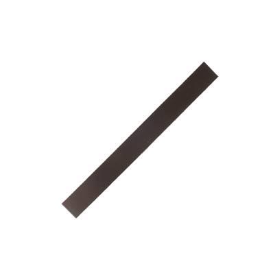 Lanière de collet végétal CHOCOLAT - 20x2 cm - Ep 1,9 mm