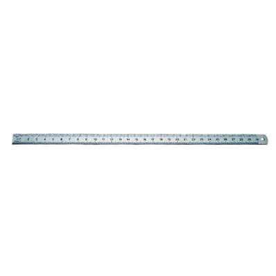 Réglet métal inox flexible - gradué 30 cm
