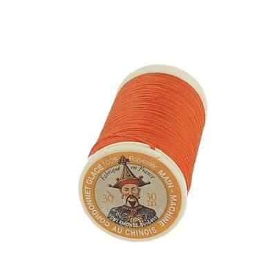 "Cordonnet 100% polyester ""Au Chinois"" - Bobine de 30 mètres - ORANGE 380"
