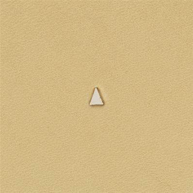 Embout emporte-pièce de précision - TRIANGLE HAUT - 3x2 mm