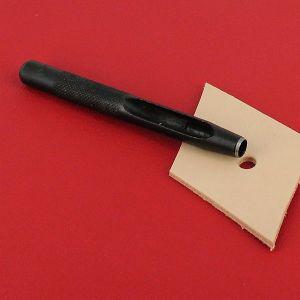 Emporte-pièce à frapper ROND manche DROIT - Diam 6 mm