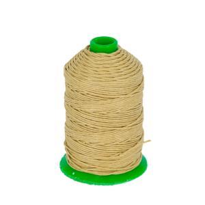 Bobine fil de lin satiné CAMPBELL'S - 132 - d = 0,82 mm - BEIGE