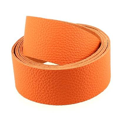 Sangle GROGRAIN - ORANGE - largeur = 38 mm