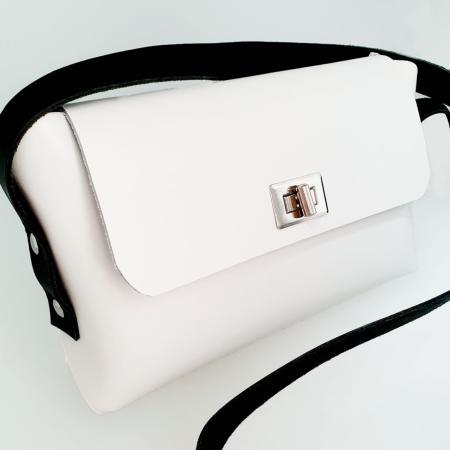 KIT COMPLET - Ma première pochette en cuir blanc