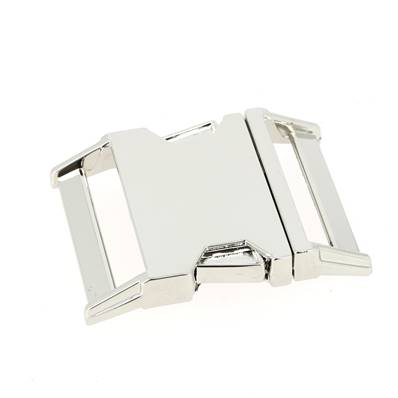 Fermeture clip - NICKELE - 38 mm