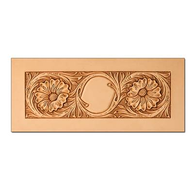 Calque réutilisable pour le transfert de motifs sur cuir - PORTEFEUILLES SHERIDAN