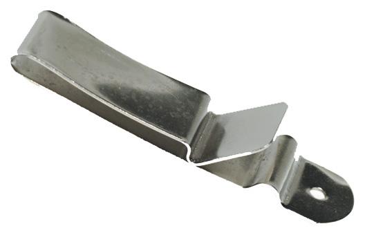 Clip pour ceinture - 22x90mm - Tandy Leather