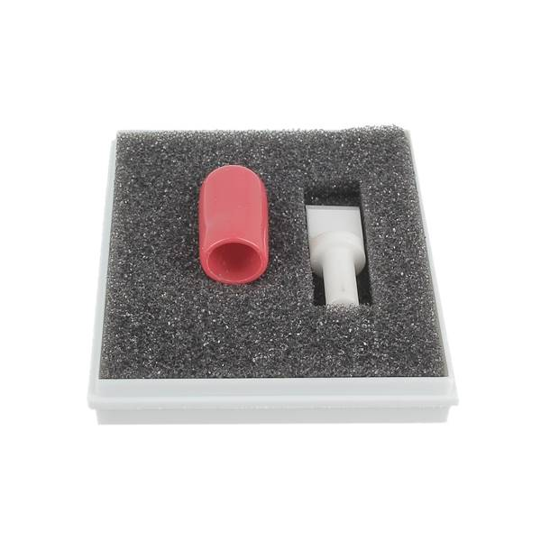 """Lame céramique droite 3/8"""" pour couteau à ouvrir - Ép 2,4mm - Fixation 7/32"""" - IVAN"""