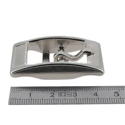 Boucle double KIM - NICKELE - 18 mm