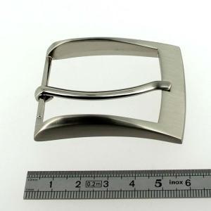 Boucle de ceinture RIO - NICKELE SATINE - 40 mm