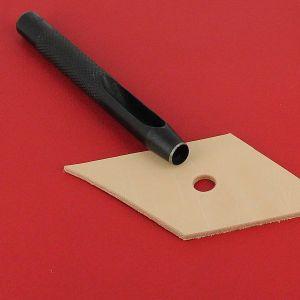 Emporte-pièce à frapper ROND manche DROIT - Diam 8 mm