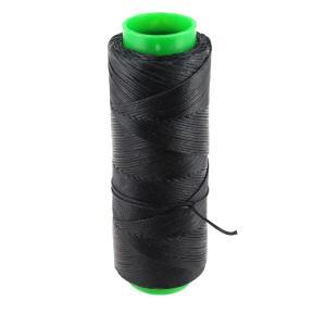 Bobine de fil polyester tressé et ciré - 100 mètres - diam 1 mm - BLEU NUIT