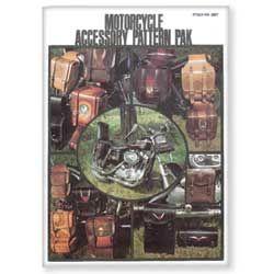 """Pochette création """"MOTORCYCLE ACCESSORY PATTERN PAK"""" - Ensemble de motifs et d'accessoires de moto"""