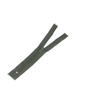 Fermeture à glissière NYLON #4 - VERT FONCE - Longueur 14 cm