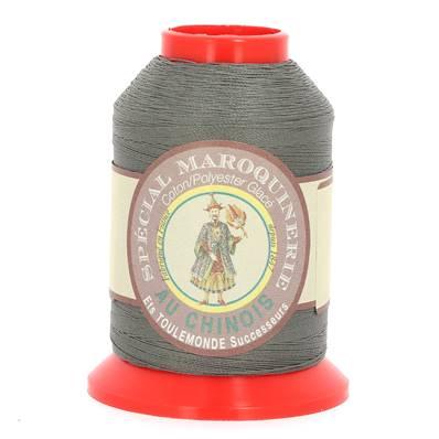 Fil Spécial Maroquinerie polyester coton - 28/2 - 0,38 mm - ARDOISE
