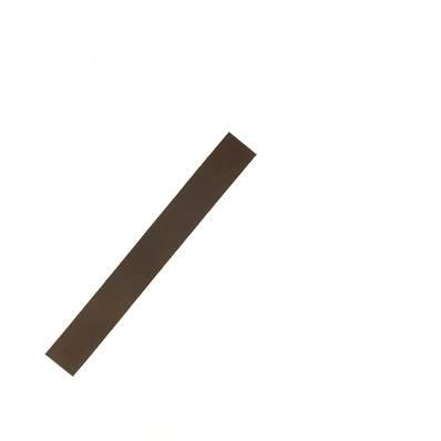 Lanière de collet végétal CHOCOLAT - 20x2,5 cm - Ep 1,9 mm
