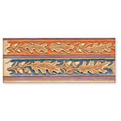 Calque réutilisable pour le transfert de motifs sur cuir - FEUILLES DE CHENES ET GLANDS #2