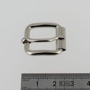 Boucle à rouleau à ardillon - NICKELE - 15 mm