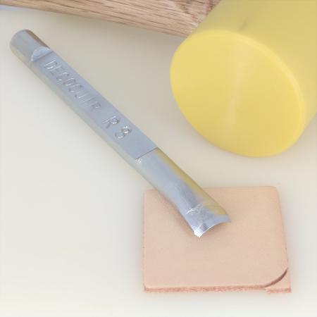 Emporte pièce à frapper Deco Cuir - COINS ARRONDIS - 8 mm