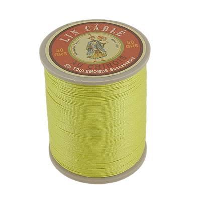 Bobine fil de lin au chinois câblé glacé - 332 - ANIS 519