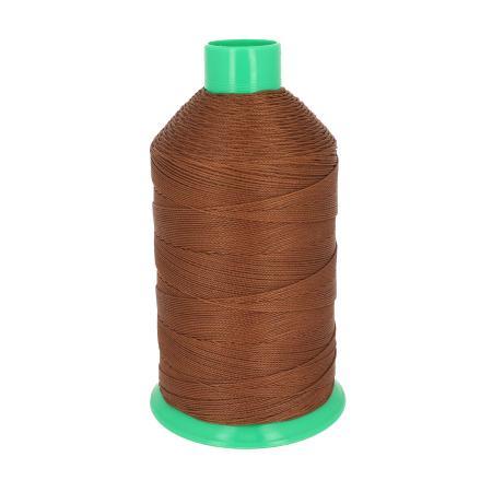 Bobine de fil polyester N°8 - 1000 m - MARRON 4889