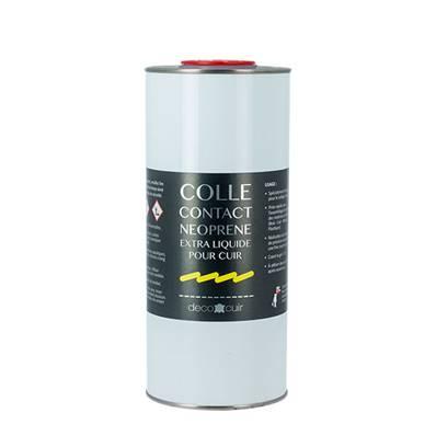 Pot de 1 litre de colle néoprène, EXTRA LIQUIDE