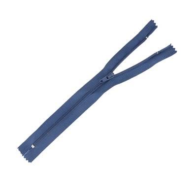 Fermeture à glissière NYLON #4 - BLEU MARINE - Longueur 20 cm