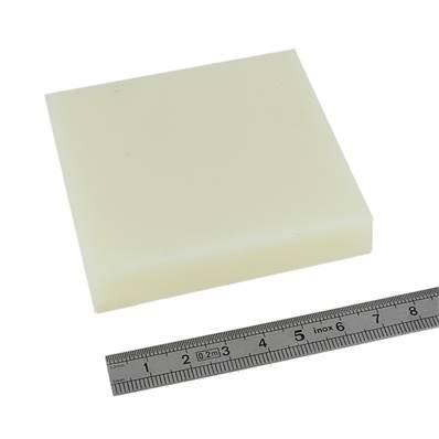 Billot de découpe en ERTALON 75 X 75 mm - Epaisseur 15 mm