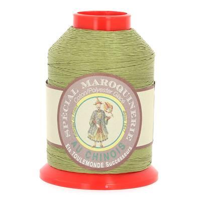 Fil Spécial Maroquinerie polyester coton - 28/3 - 0,45 mm - MOUSSE