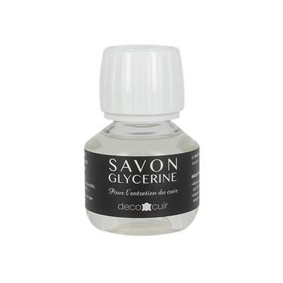Savon glycériné liquide pour entretien du cuir - 60 ml