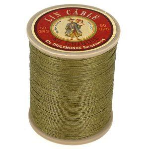 Bobine fil de lin au chinois câblé glacé - 332 - MOUSSE 643