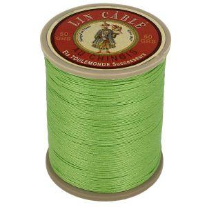 Bobine fil de lin au chinois câblé glacé - 332 - VERT CLAIR 455