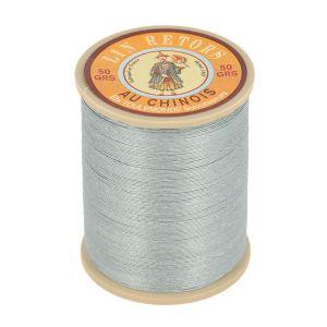 Bobine fil de lin au chinois retors extra glacé n°40 - GRIS CLAIR 115