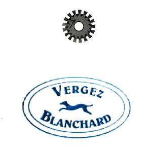 Molette n°7 pour griffe à molette VERGEZ BLANCHARD - Pour DROITIER
