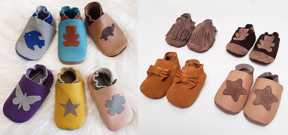 Tuto - Chaussons en cuir pour bébé