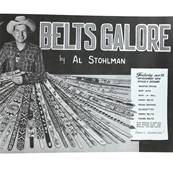 """Livre """"BELTS GALORE BOOK"""" - Livre de ceintures à gogo"""