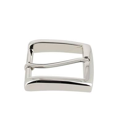 Boucle de ceinture MAX - NICKELE - 30 mm