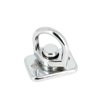 Liaison tournante sur plaque - NICKELE - 13 mm