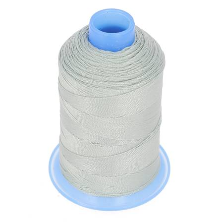 Bobine de fil polyester retors N° 30 - 400 mètres - GRIS