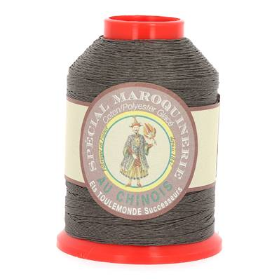 Fil Spécial Maroquinerie polyester coton - 28/4 - 0,52 mm - LICHEN