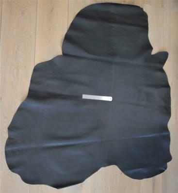 Peau de cuir de veau doublure - NOIR - 2' choix