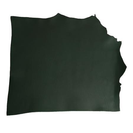 Demi collet tannage végétal - VERT FONCÉ - Épaisseur 1,9 mm