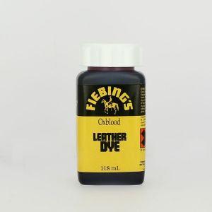 Teinture pour cuir FIEBING'S Leather dye - SANG DE BOEUF - OXBLOOD