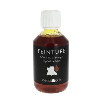 Teinture base aqueuse Deco Cuir - JAUNE - 250 ml