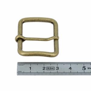 Boucle à ardillon - LAITON VIEILLI - 35 mm