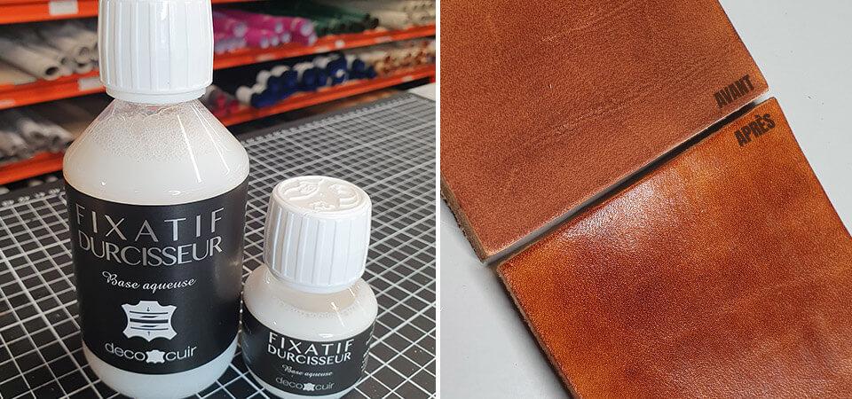 Vernis durcisseur pour cuir : démonstration et résultat