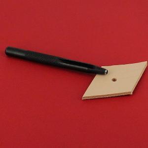 Emporte-pièce à frapper ROND manche DROIT - Diam 3 mm